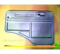 Облицовка водительской двери (внутренняя) серая ПАЗ 3205-6402012-10