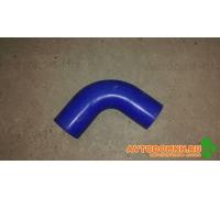 Патрубок воздушный угловой 52x52 (Синий) SG 17DPL