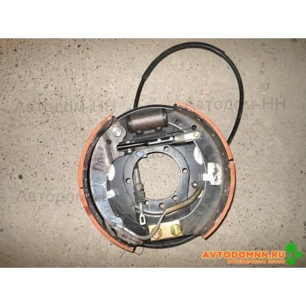 Тормоз задний с тросом правый ПАЗ, Г 33078-3502008