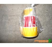 Лента боковая (самоклеющая) (н/о желто/красн) ромбы