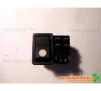 Клавиша выключатель без символа 24В ПАЗ-3204 771.3709-02.00 Автоарматура СПб.