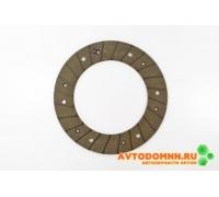 Накладка сцепления ВАЗ-2109 2109-1601138-03 сверленая ТИИР