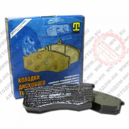 Колодки тормозные УАЗ-3160, 2360 Патриот Стандарт б/асб с противошумной мастикой 3160-3501090 (ТИИР-221) передние ТИИР