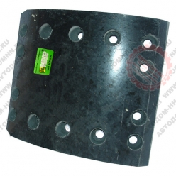 Накладки тормозные ЛиАЗ б/асб 5256-3501105-20 сверленая ТИИР