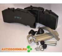 Колодки тормозные для тормозной системы KNORR SB4309T, SAF, Mercedes, BPW аналог GDB 5093 с монтажным комплектом ТР.А-121 установочный комплект ТИИР