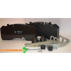 Колодки тормозные ЛИАЗ, для тормозной системы KNORR SB3745T(SB7), BPW аналог GDB 5092 с ...