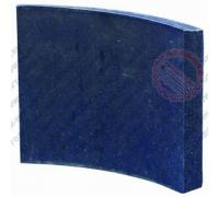 Накладки тормозные Зубренок 4370-3501105 не сверленая ТРИБО (Украина)