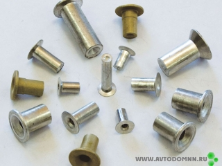 Заклепки. Как заменить тормозные колодки (тормозные накладки на них)? Как грамотно клепать колодки используя алюминиевые заклепки? Или все-таки клеить? Где их продают?