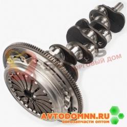 Вал коленчатый с маховиком и сцеплением в сборе двигатель ЗМЗ-402,4021-выпуска с 2004г. ...
