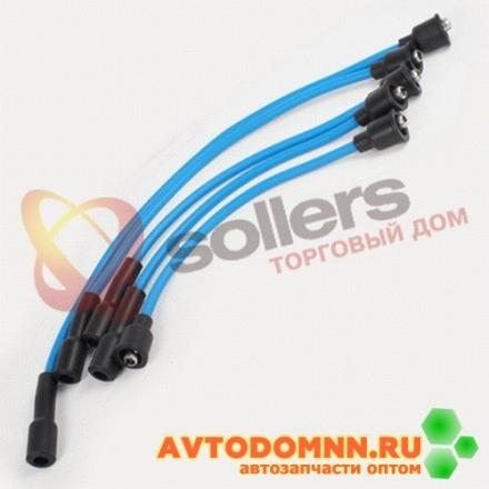 Высоковольтные провода SUPER EPDM с наконечниками к-т двигатель ЗМЗ-402.10 402.3707244-251 ЗМЗ