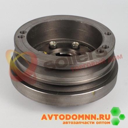 Шкив-демпфер со ступицей двигатель ЗМЗ-4025, 4026 4025.1005050-10 ЗМЗ
