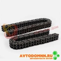 Цепи привода ГРМ к-т двигатель ЗМЗ-406.10, двурядная, 70 и 90 зв., диам.втулки 5,05 mm 4...
