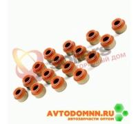Колпачок маслоотражательный к-т двигатель ЗМЗ-405, 406, 409, 16 шт. 406.1007026-201 ЗМЗ