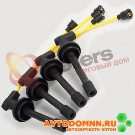 Высоковольтные провода SUPER SILICONE с наконечниками к-т двигатель ЗМЗ-4052, 40522, 4062, 40621, 409, 4092 406.3707244-266 ЗМЗ