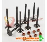 Клапаны выпускные к-т двигатель ЗМЗ-406.10, 8 шт. 406.3906597-201 ЗМЗ
