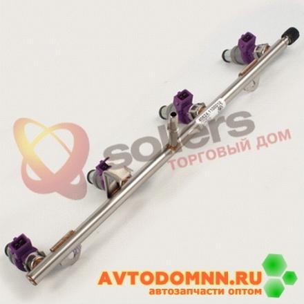 Топливопровод с форсунками двигатель ЗМЗ-40524, 40525 40624.1100010 ЗМЗ