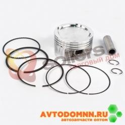 Поршень, палец, стопорные и поршневые кольца двигатель ЗМЗ-40904 EURO-III, группа В 95,5...