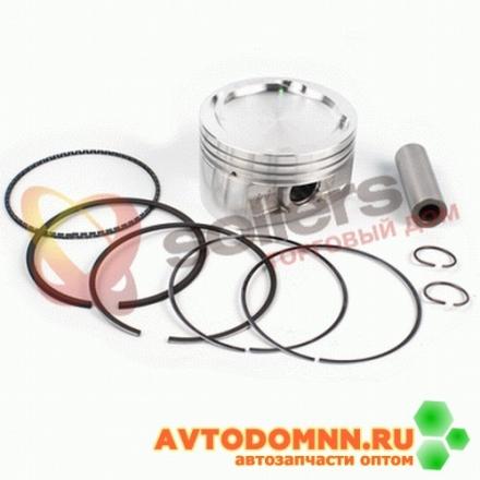 Поршень, палец, стопорные и поршневые кольца двигатель ЗМЗ-40904 EURO-III, группа В 96,0 mm 40904.1004018-10-АР/03 ЗМЗ