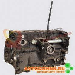 Блок цилиндров с трубкой указателя уровня масла двигатель ЗМЗ-514 EURO-III 5143.3906586-...