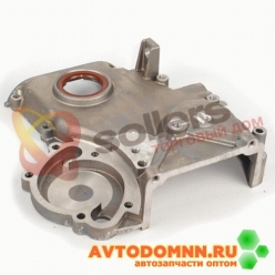 Крышка цепи с сальником двигатель ЗМЗ-51432.10 Евро-IV 51432.1002058 ЗМЗ