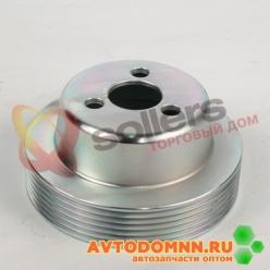Шкив водяного насоса двигатель ЗМЗ-51432.10 Евро-IV 51432.1308025-11 ЗМЗ