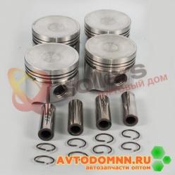Поршень с пальцем и стопорными кольцами к-т двигатель ЗМЗ-5231,5233, 5234 92,5 mm 523.10...