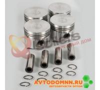 Поршень с пальцем и стопорными кольцами к-т двигатель ЗМЗ-5231,5233, 5234 93,0 mm 523.1004014-БР ЗМЗ