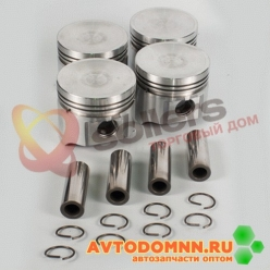 Поршень с пальцем и стопорными кольцами к-т двигатель ЗМЗ-5231,5233, 5234 93,0 mm 523.10...