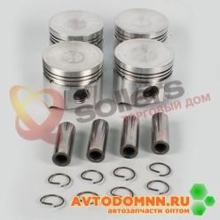 Поршень с пальцем и стопорными кольцами к-т двигатель ЗМЗ-5231, 5233, 5234 92,0 mm 523.1...