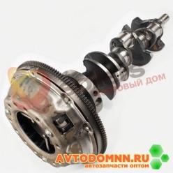 Вал коленчатый с маховиком и сцеплением в сборе двигатель ЗМЗ-511, 513 53-1005010-14 ЗМЗ