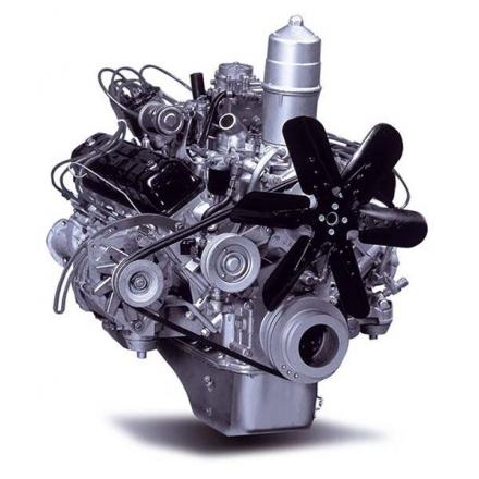 Двигатель с моторным маслом ГАЗ-3307, 5-ст. КПП 513.1000403-70 ЗМЗ