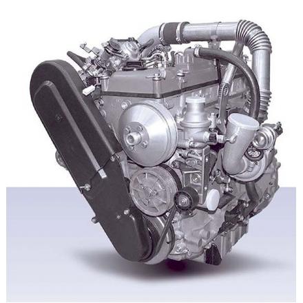 Двигатель УАЗ-315148 Hunter с ГУР 5143.1000400-41 ЗМЗ