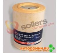 Элемент фильтр. очистки воздуха двигатель ММЗ-245.7 - авт. ГАЗ: 3308, 3309, 3310 Валдай EF-43 K ЗМЗ