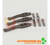 Рычаги нажимного диска сцепления без вилки к-т (3 шт.) ВК-53-1601198 ЗМЗ
