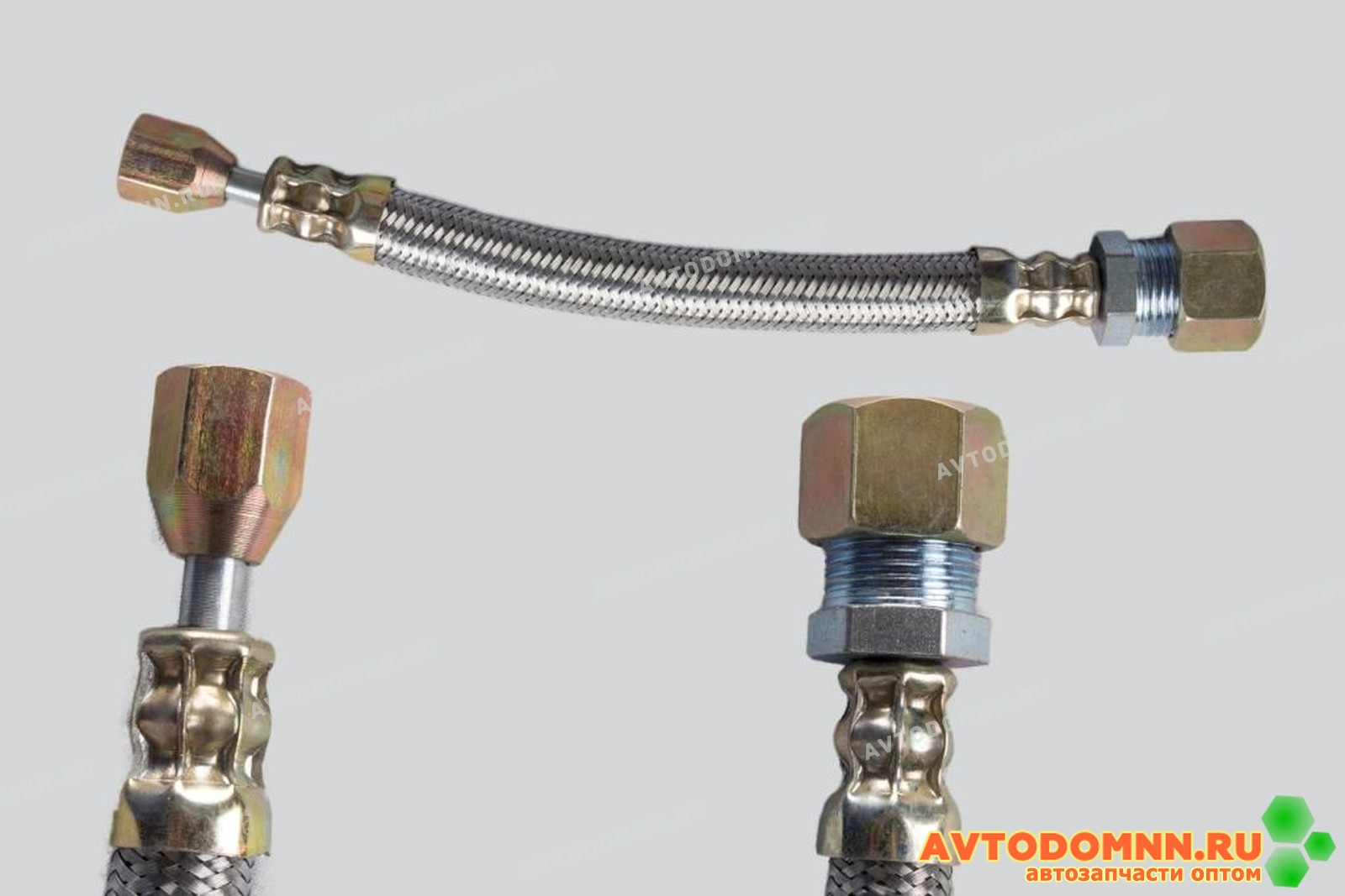 Шланг подкачки шланг подкачки внутреннего колеса 25см метал оплет