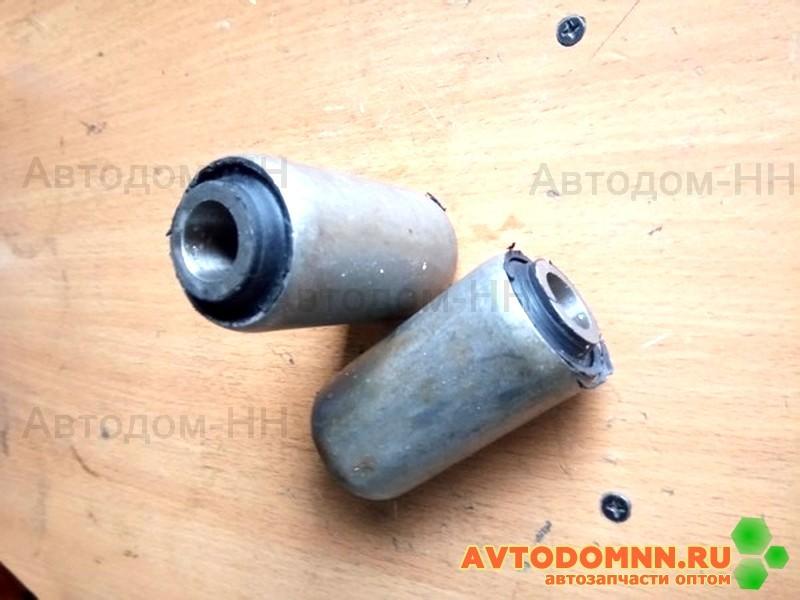 33104-2902027 сайлентблок (шарнир резинометаллический) передней рессоры Г3310 Валдай/Г3302 Бизнес